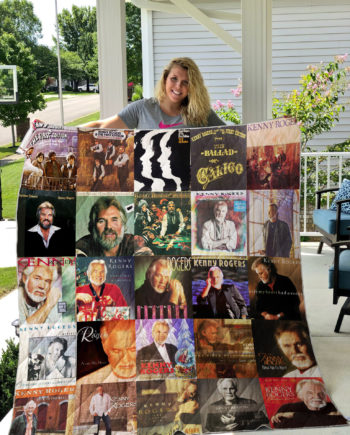 Kenny Rogers Quilt Blanket