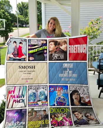 Smosh Quilt Blanket