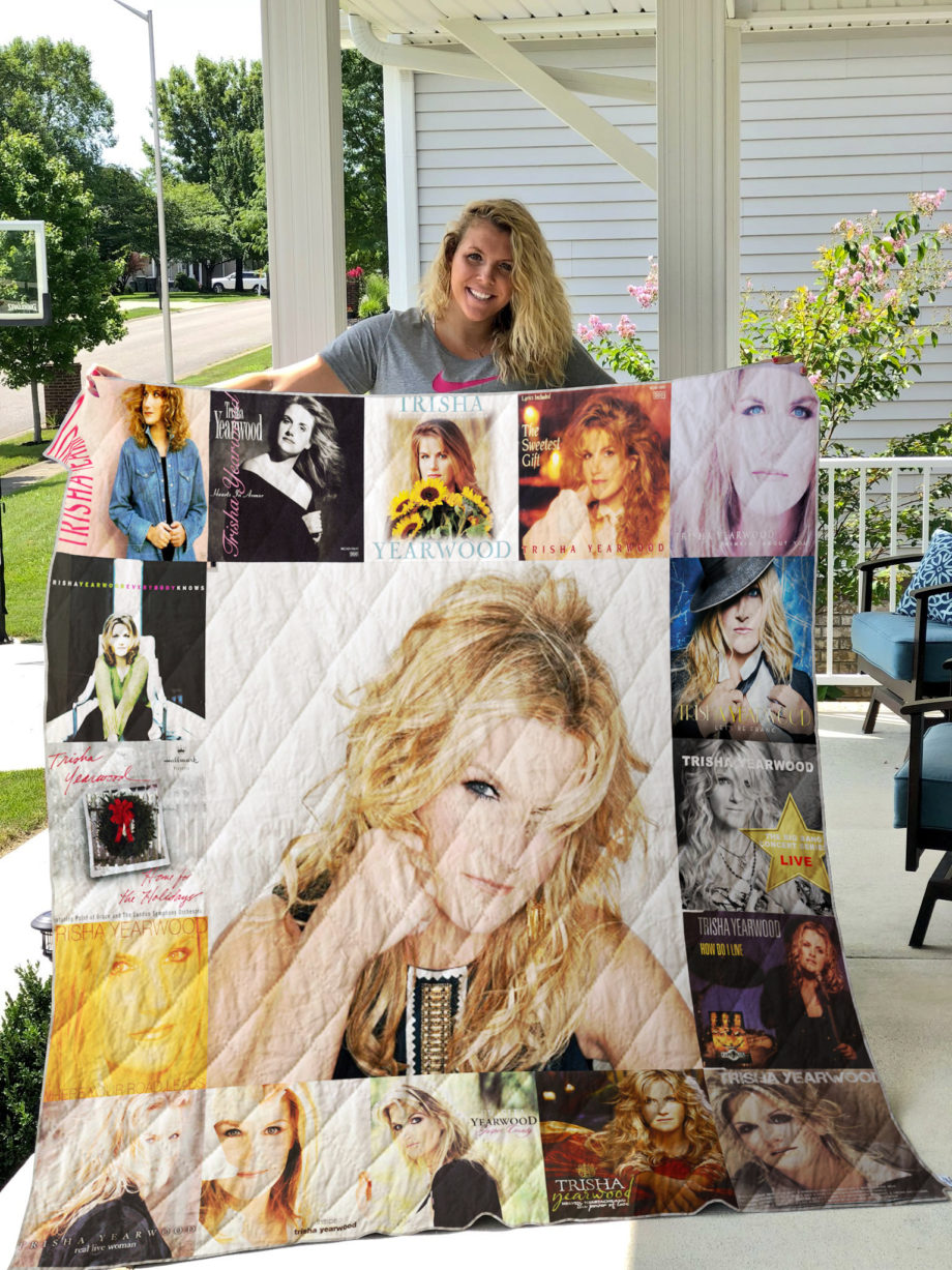 Trisha Yearwood 2 Quilt Blanket