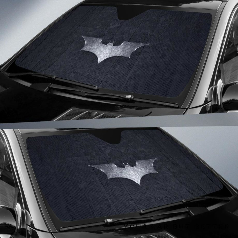 Batman Logo Car Auto Sun Shades 230916