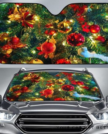 Christmas Car Auto Sun Shades 230916