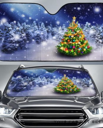 Christmas Tree Car Auto Sun Shades 230916