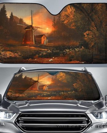 Country House Morning Car Auto Sun Shades 230916