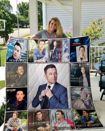 Scotty McCreery Quilt Blanket