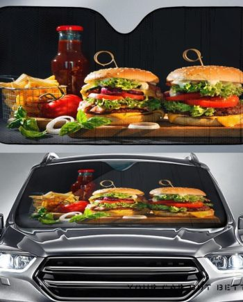 Fast Food Car Auto Sun Shades 230916