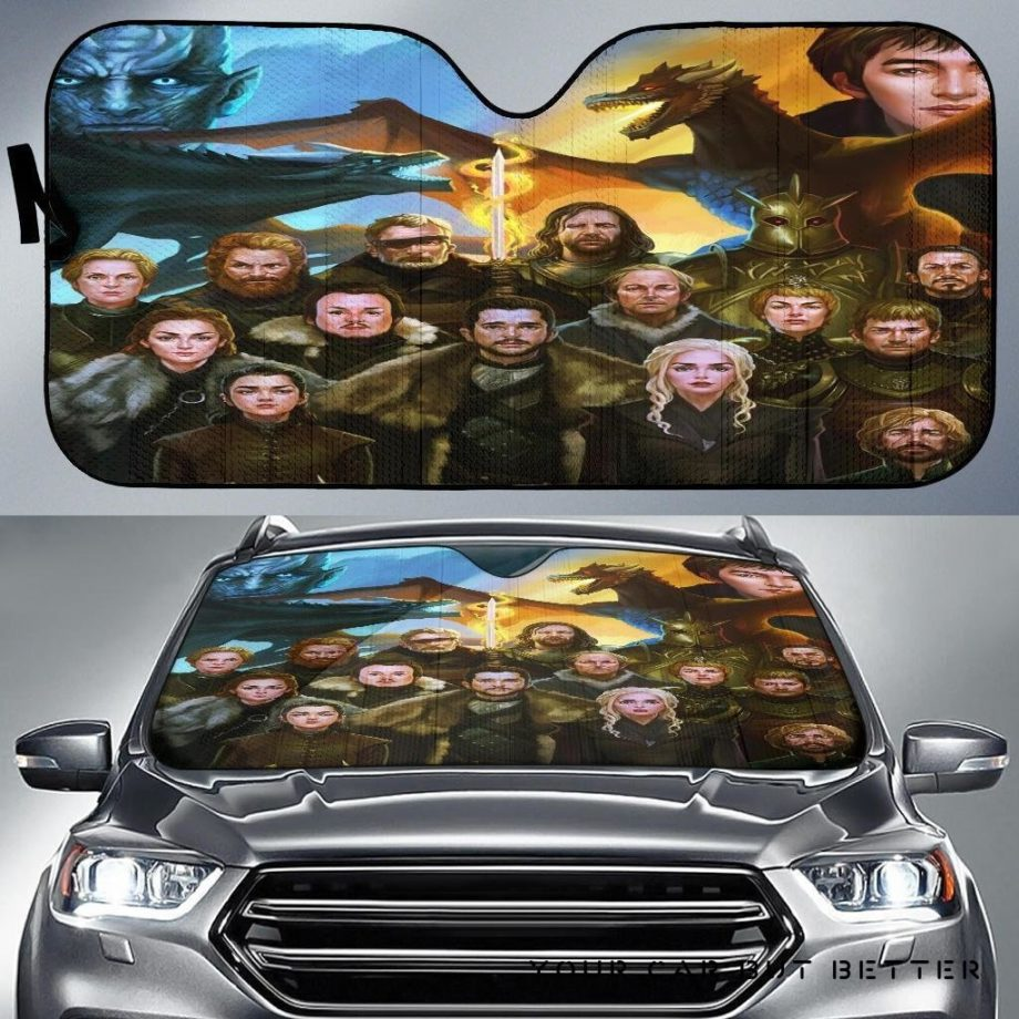 Game Of Thrones Car Auto Sun Shades 230916