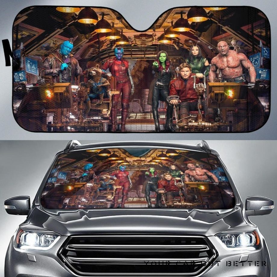 Guardians Of The Galaxy Car Auto Sun Shades 230916