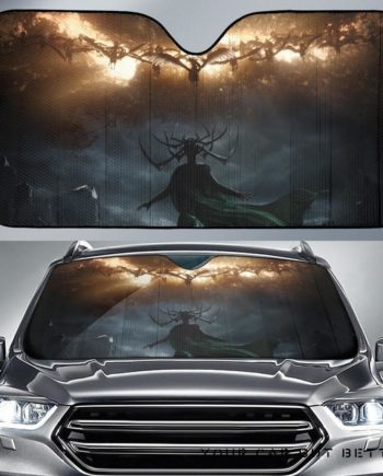 Hela Vs Valkyrie Car Auto Sun Shades 230916