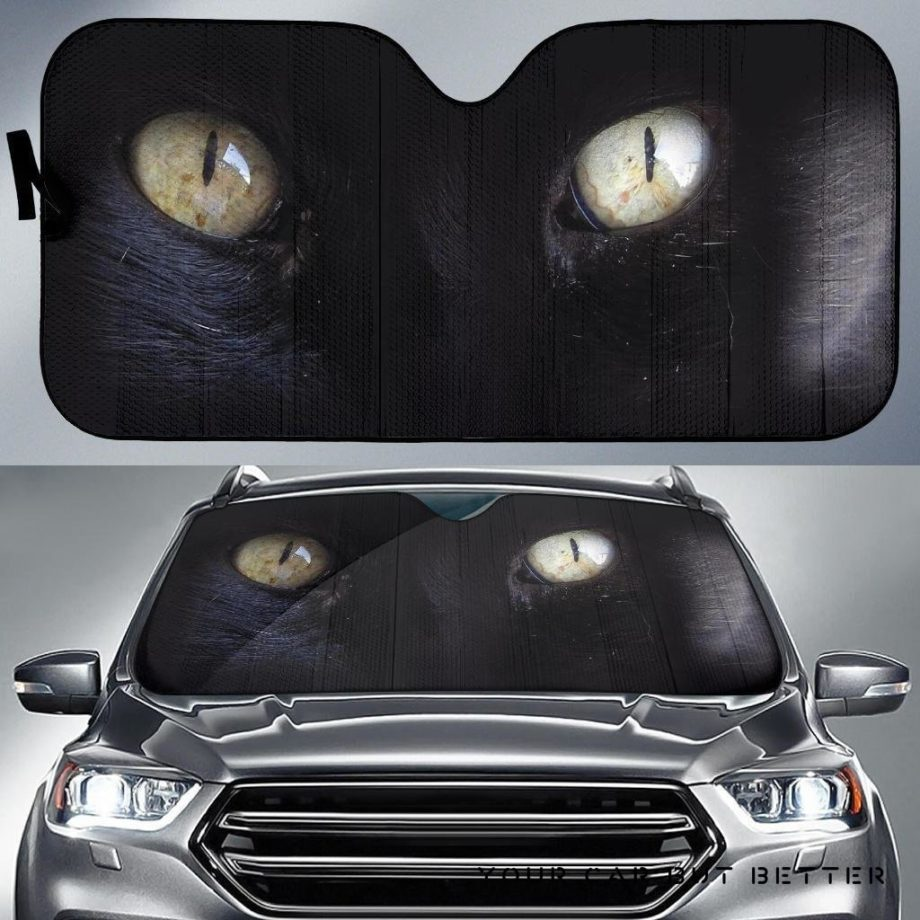 Hell Cat Eyes Car Auto Sun Shades 230916
