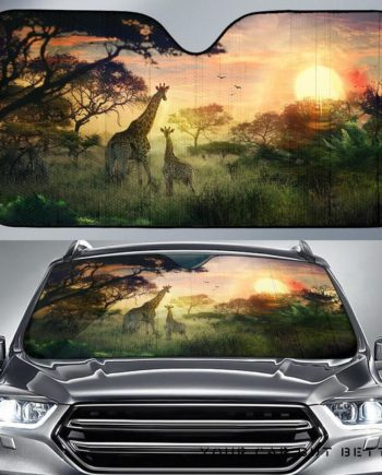 Jungle Car Auto Sun Shades 230916