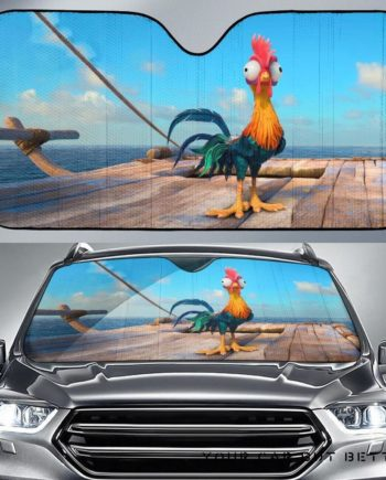Moana Hei Hei Chicken Car Auto Sun Shades 230916