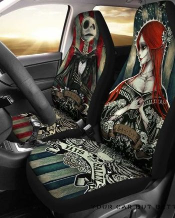 Nightmare Before Christmas Car Seat Covers 151621
