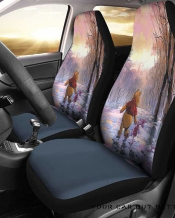 Pooh And Piglet Car Seat Covers 151621