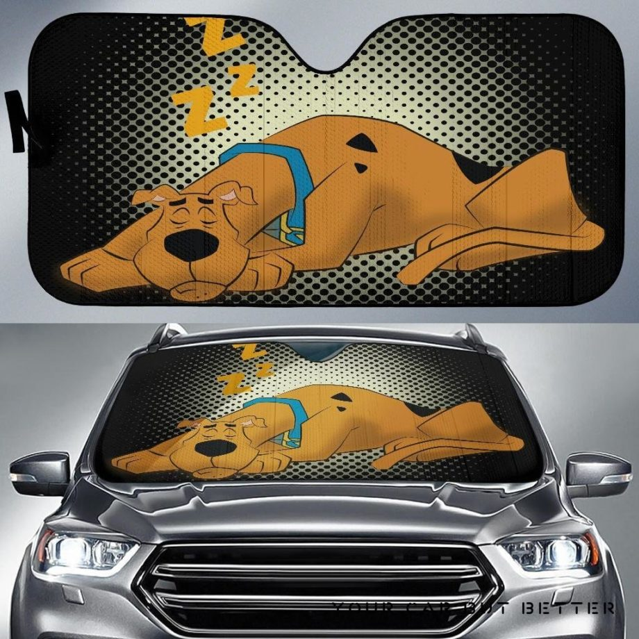 Scooby Doo Car Auto Sun Shades 230916