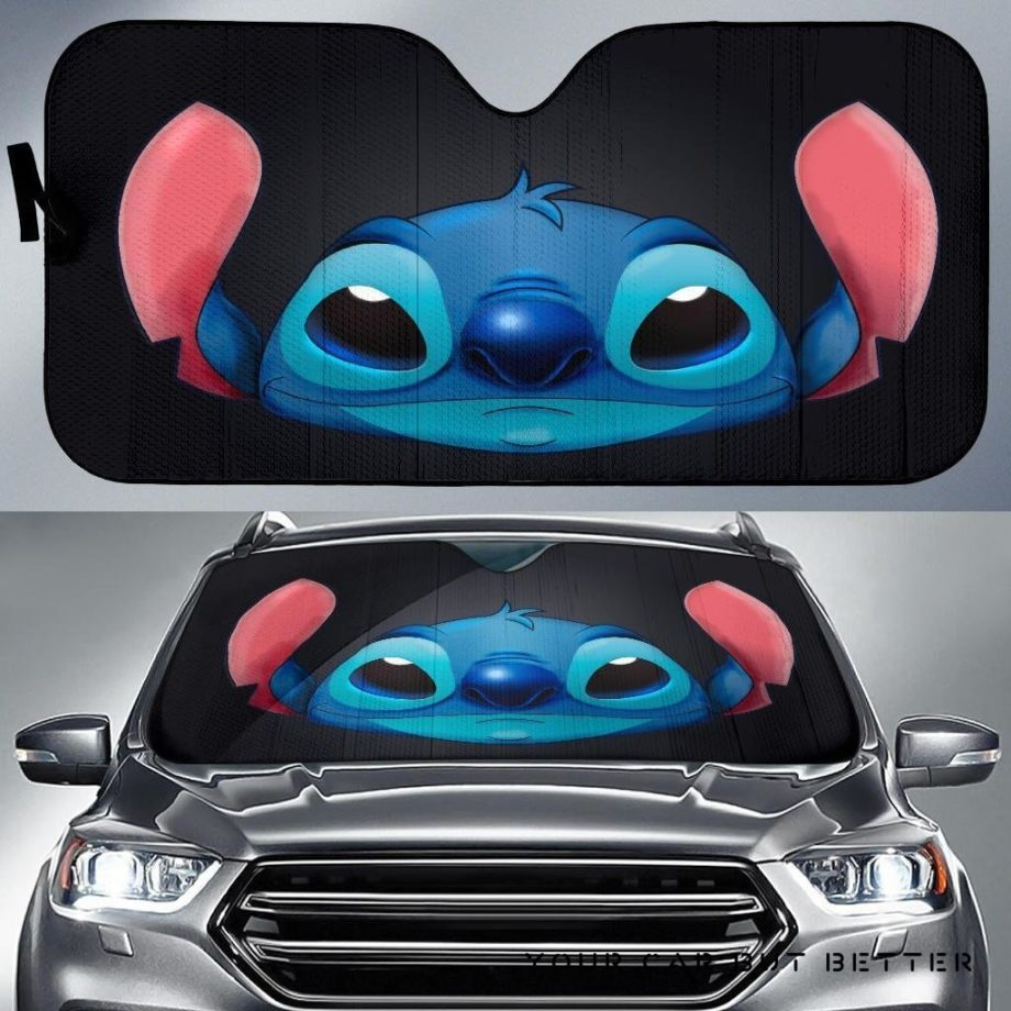 Stitch Face Car Auto Sun Shades 230916