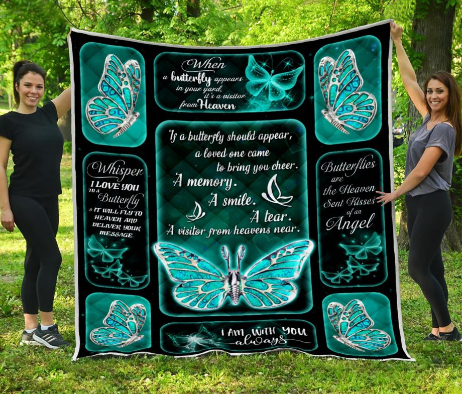 Butterfly Silver A Memory Quilt KP-99