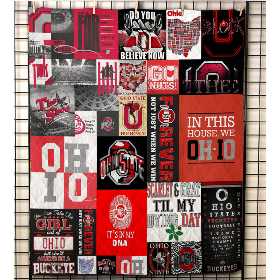 Ohio State  Quilt Blanket KWP20193