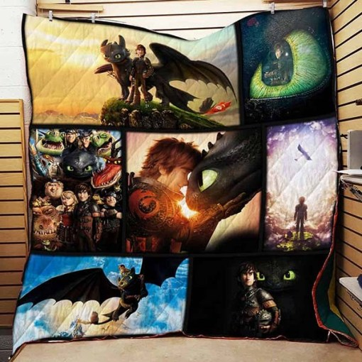 HTTYD  Quilt Blanket KWP8