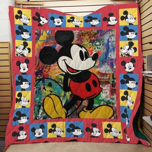 Mickey Mouse  Quilt Blanket KWP1
