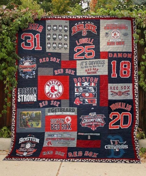 Boston Red Sox  Quilt Blanket KWP9