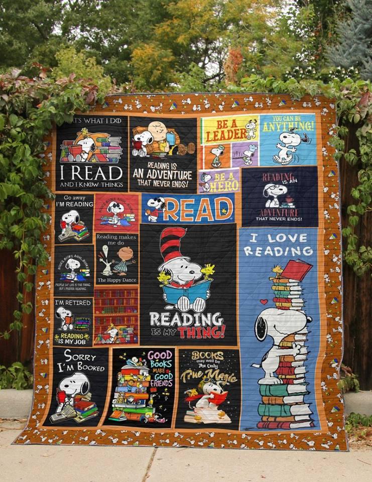 Snoopy  Quilt Blanket KWP5201911