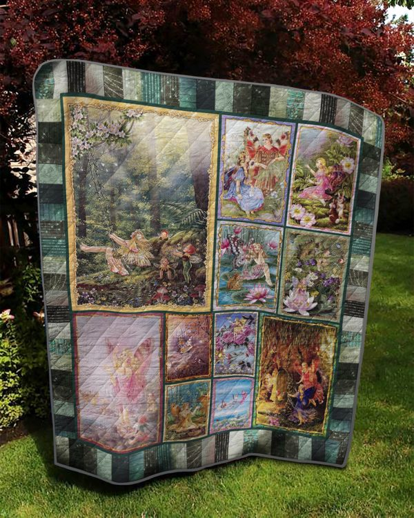 The Fairy P408006 Quilt Blanket