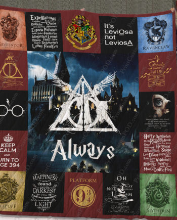[pe] Harry Potter Quilt Blanket Ver 17 KP-387