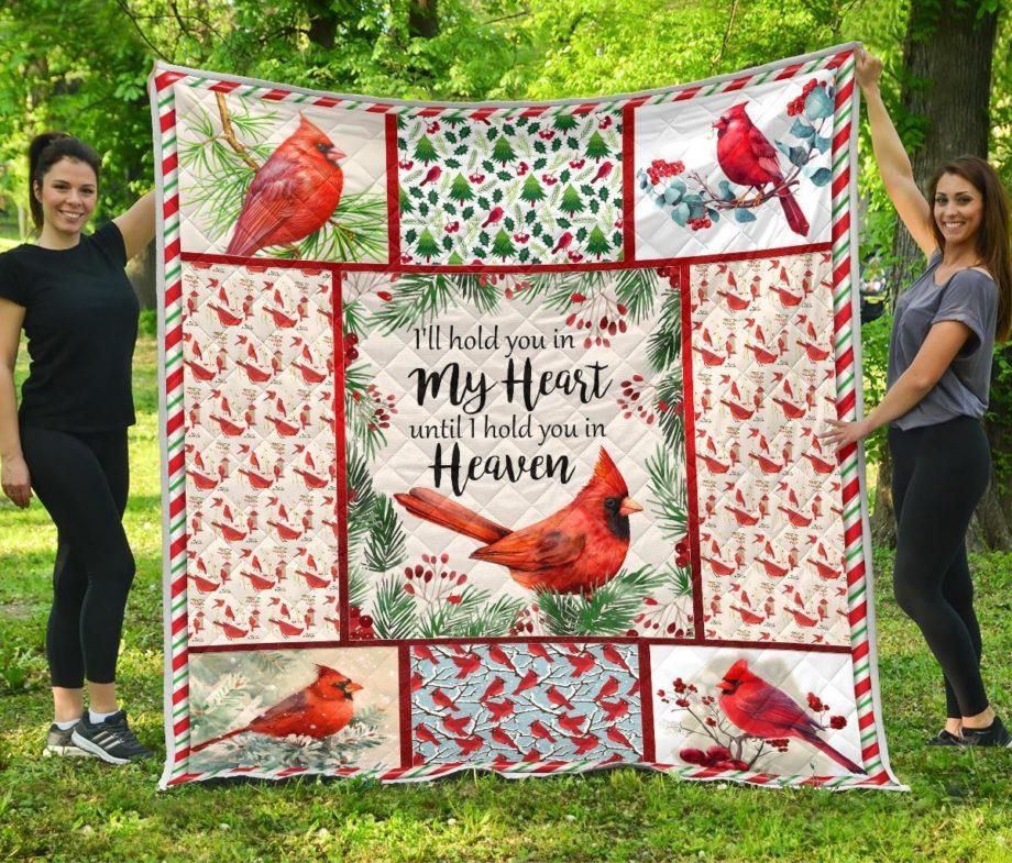 Red Bird Quilt I hold you in heaven KP-88