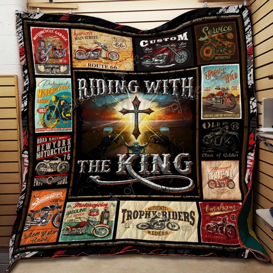 Riding With The King Quilt KPW629 KP-136