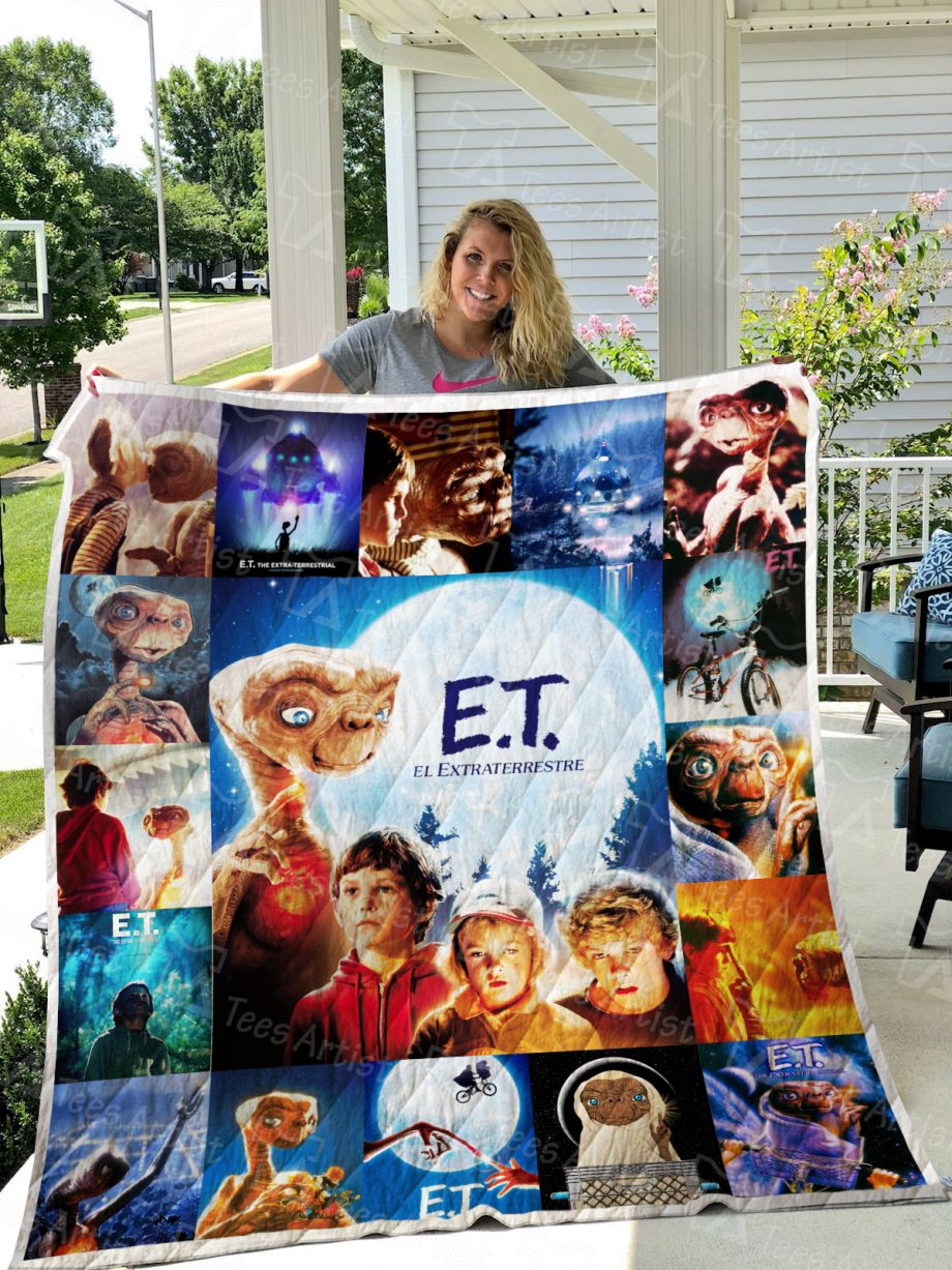 E.T. the ExtraTerrestrial Quilt Blanket 0646