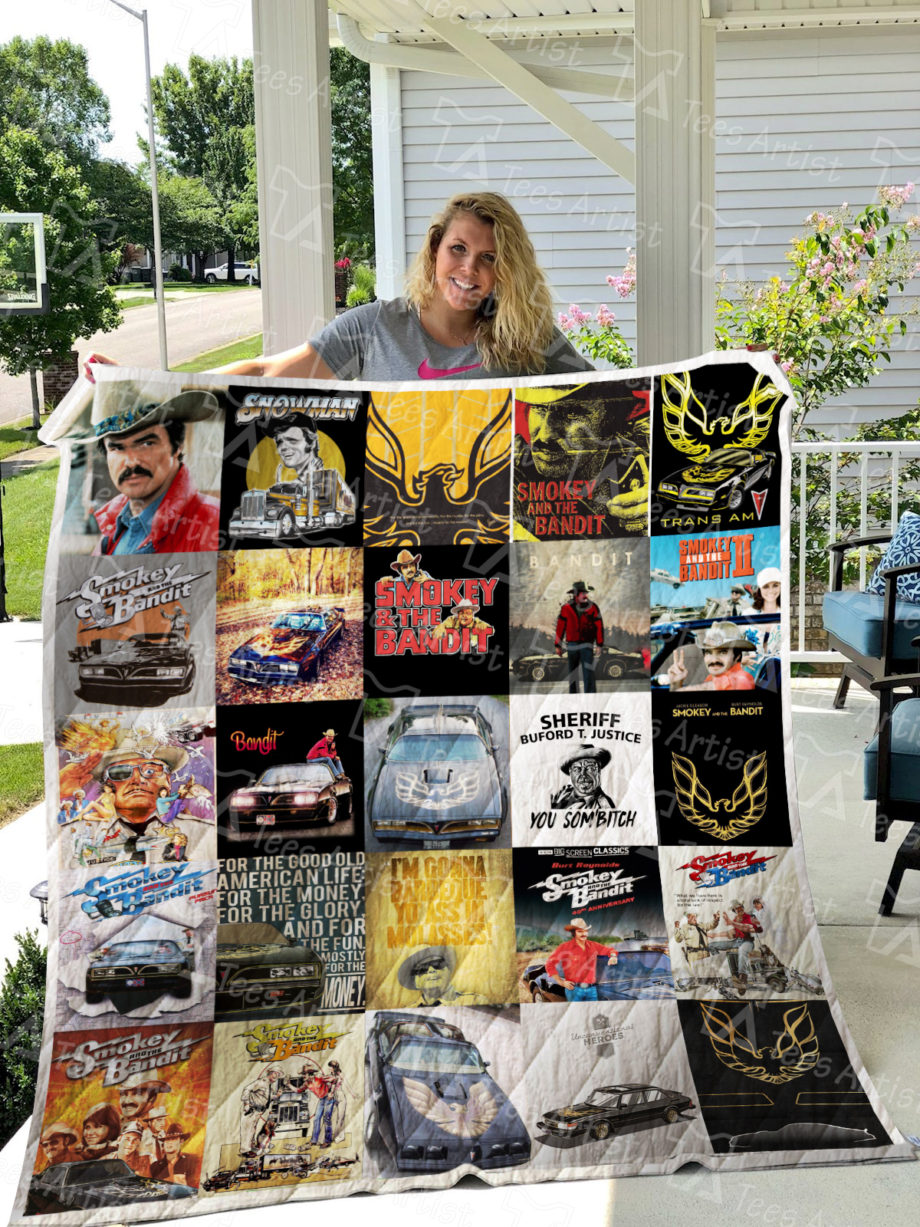 Smokey And The Bandit Quilt Blanket 0369