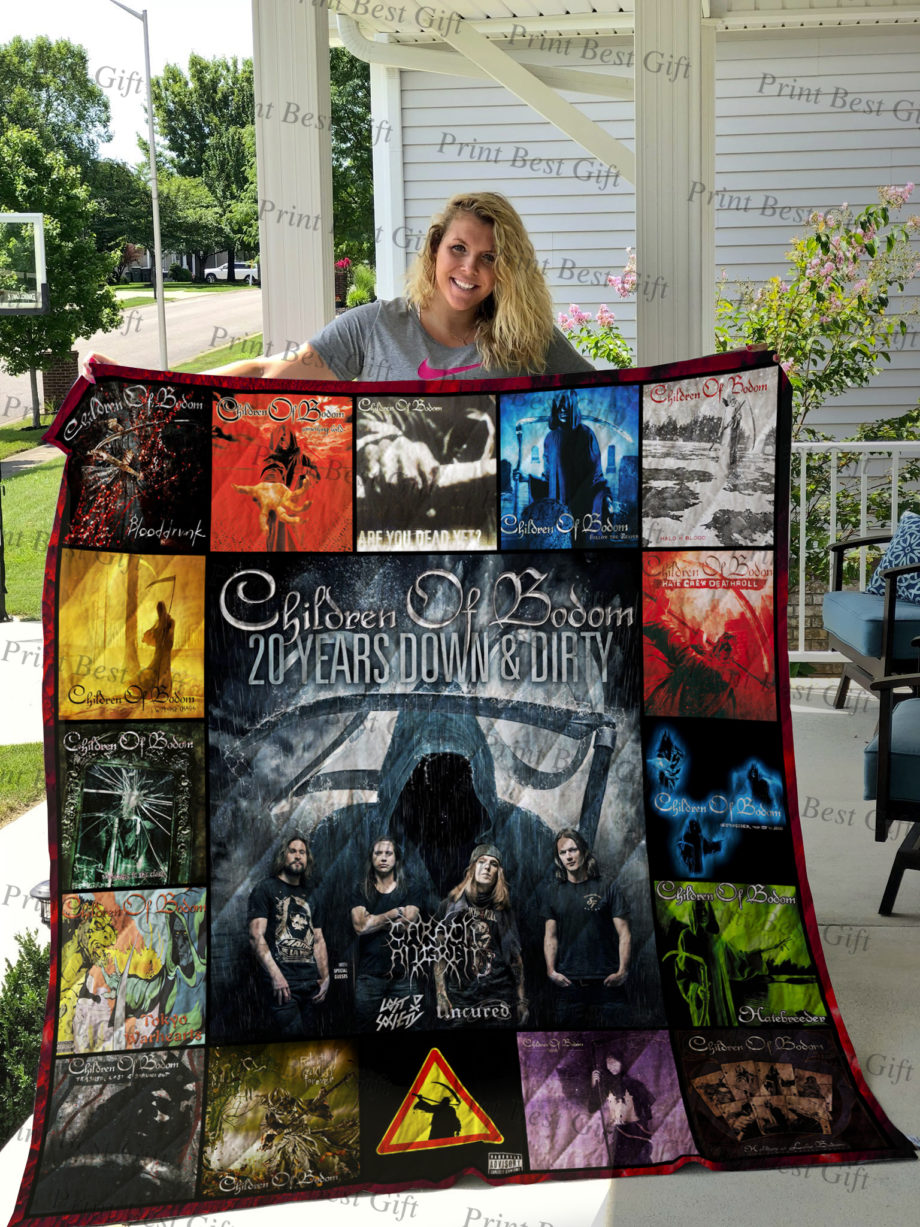 Children of Bodom Albums Cover Poster Quilt Ver 2