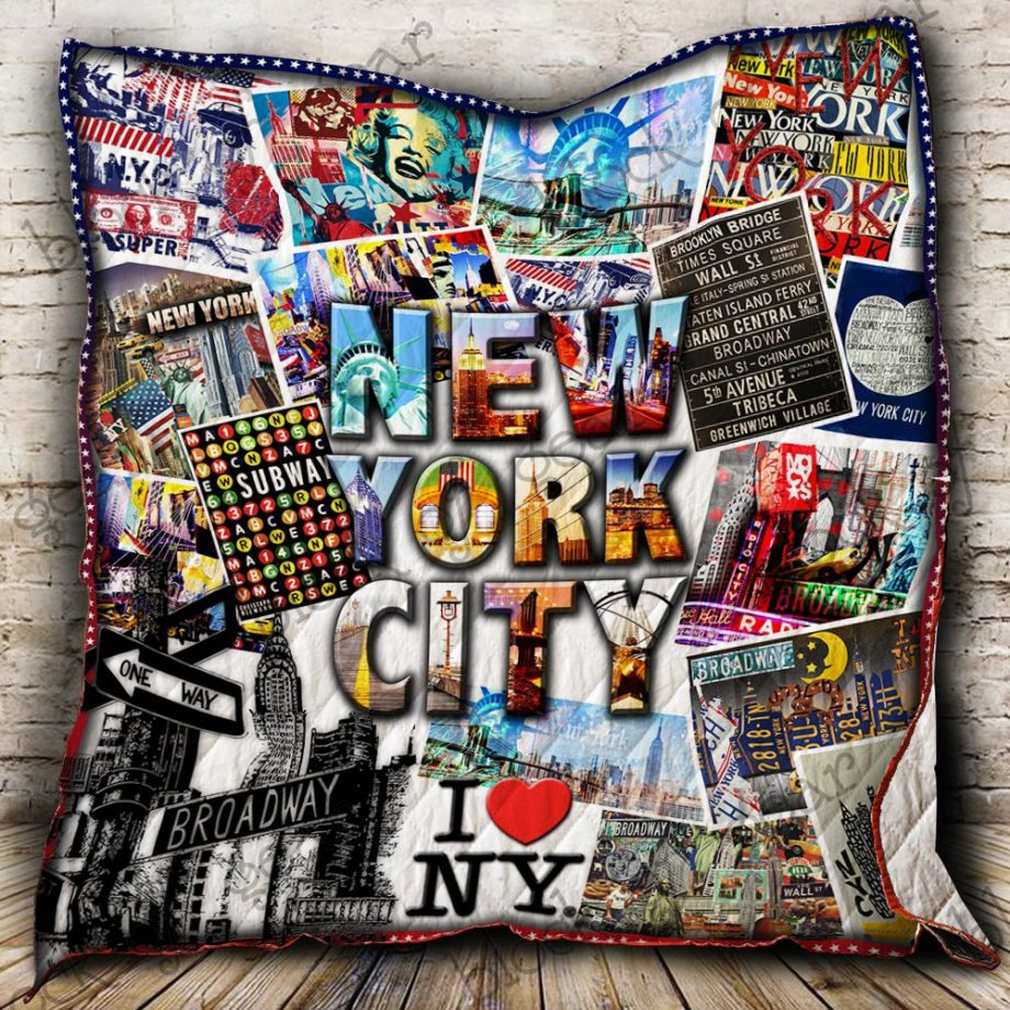 I Love NYC Quilt P240 KP-128