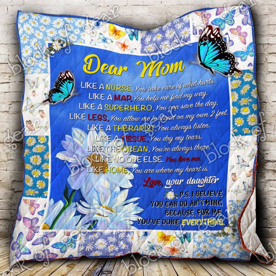 My Mom, For me, You've done everything Quilt P435 KP-19