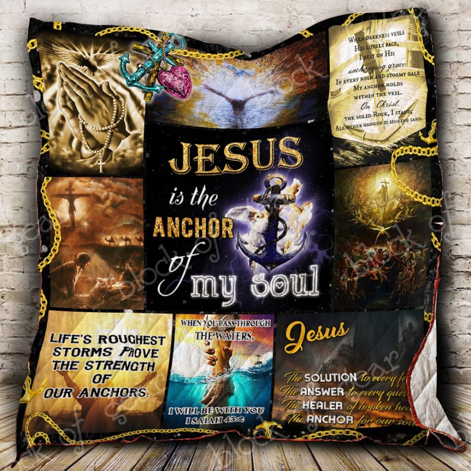 Jesus Is My Anchor Quilt P409 KP-125