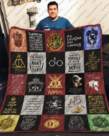 [pe] Harry Potter Quilt Blanket Ver 25 KP-386