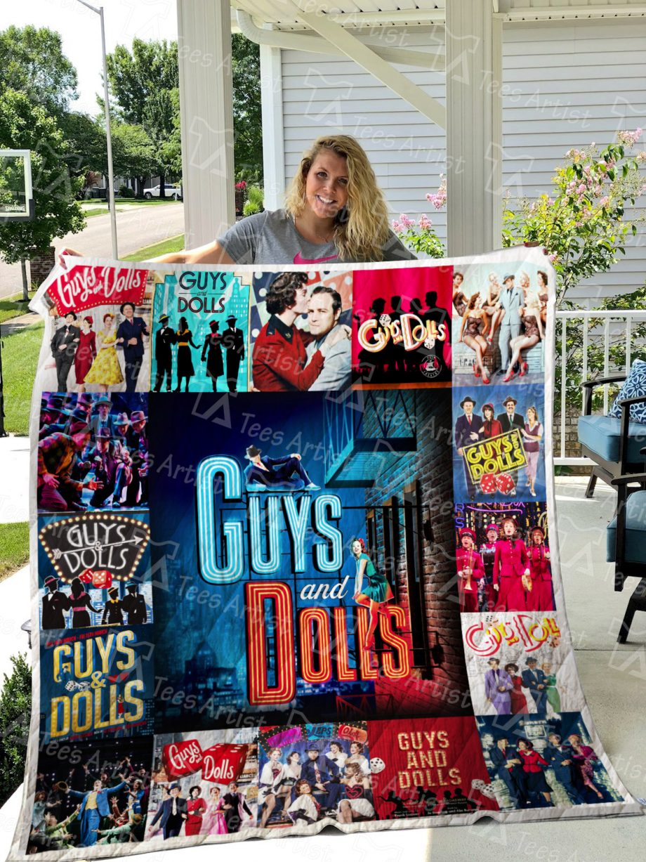 Guys and Dolls Quilt Blanket 0602