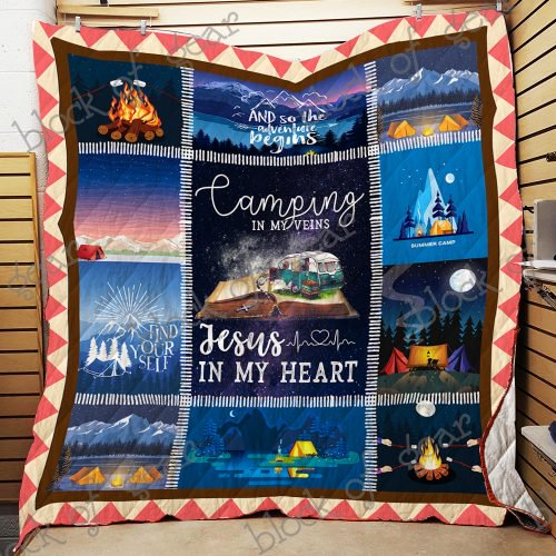Let's Go Camping Quilt NP79