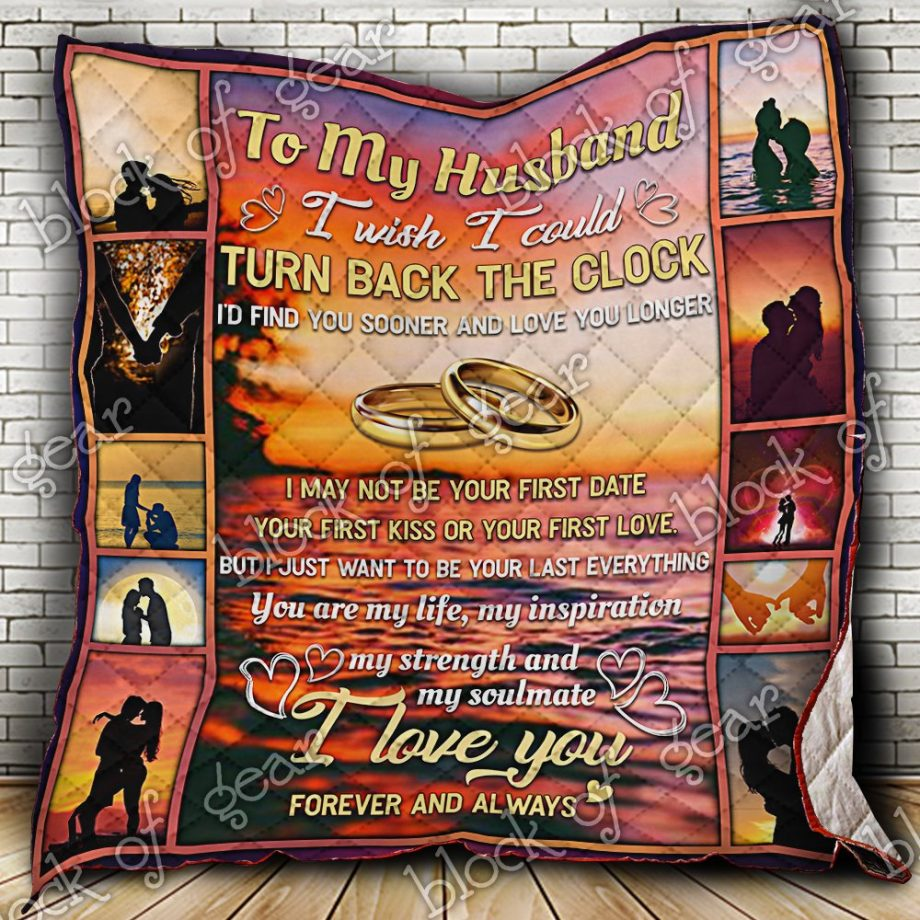 My Husband I Love You Quilt PS526H