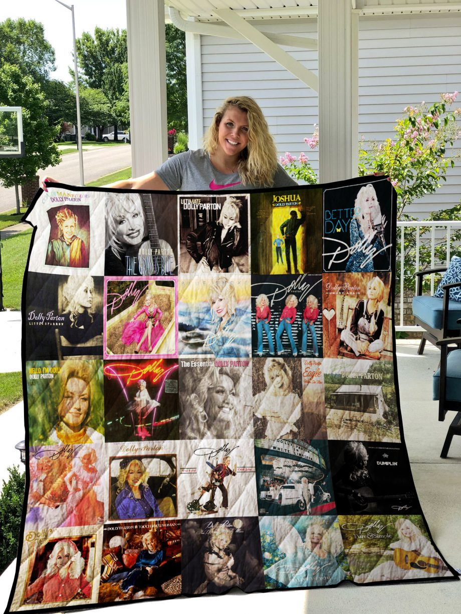 Dolly Parton Quilt Blanket 0931