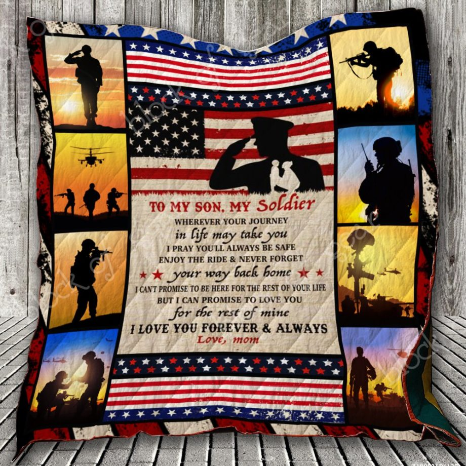 To My Son, My Soldier Quilt KPW747 KP-153