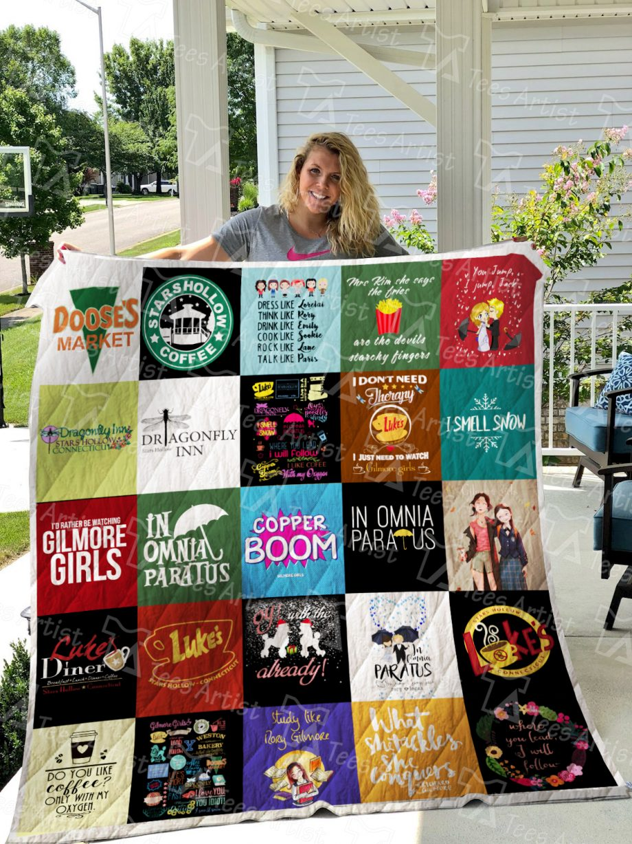 Gilmore Girls Quilt Blanket L0417