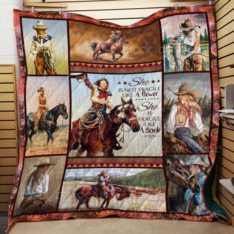 I'm A Cowgirl Quilt KPW632 KP-44