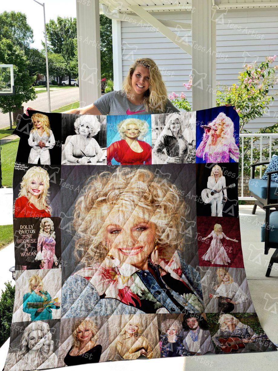 Dolly Parton Quilt Blanket 01030