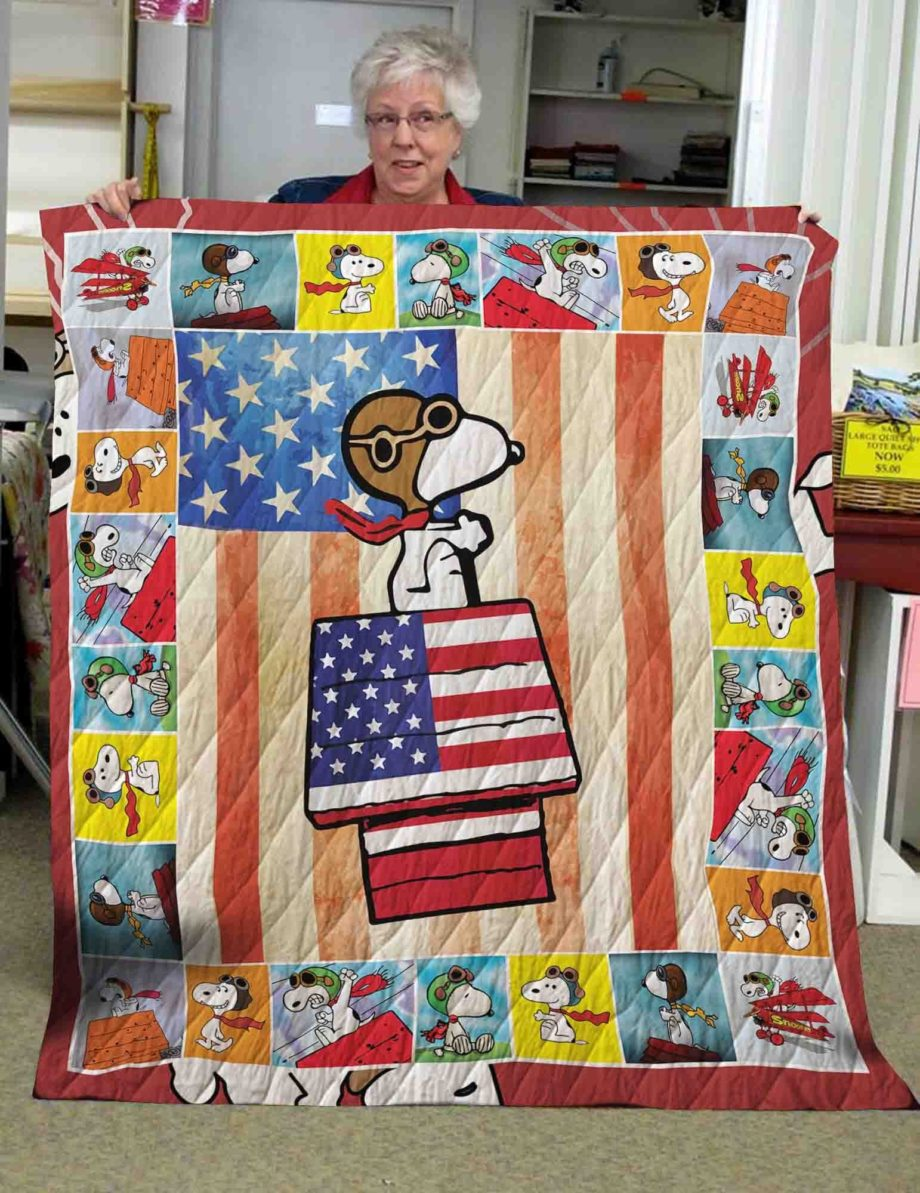 Snoopy  Quilt Blanket KWP520197