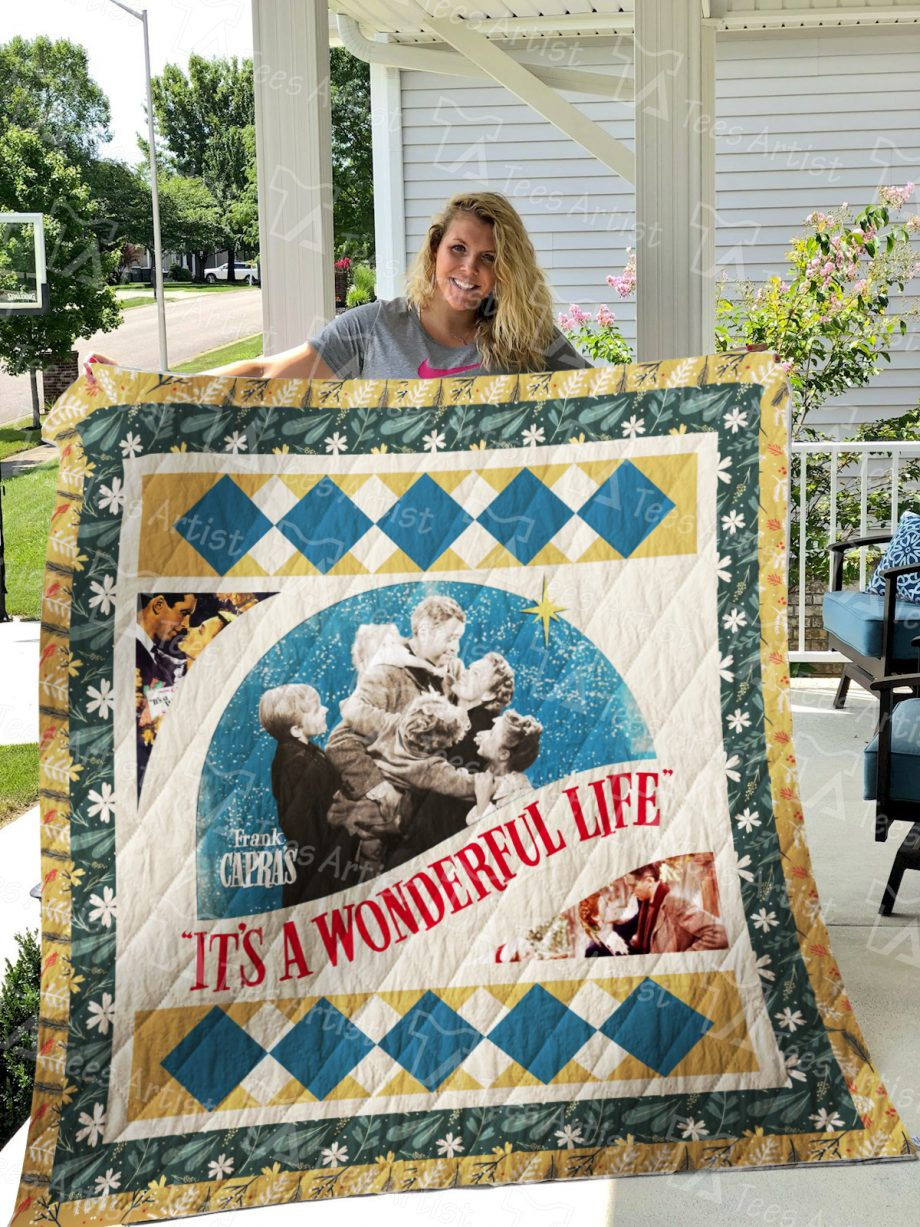 It's a Wonderful Life Quilt Blanket 0690