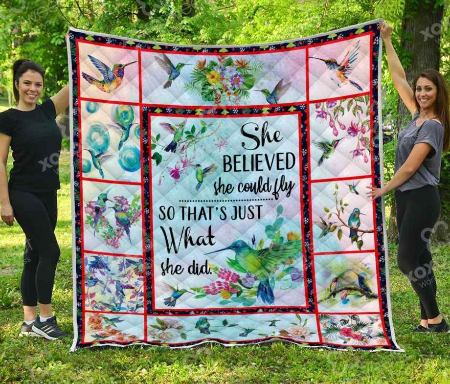She could fly Quilt KP-109