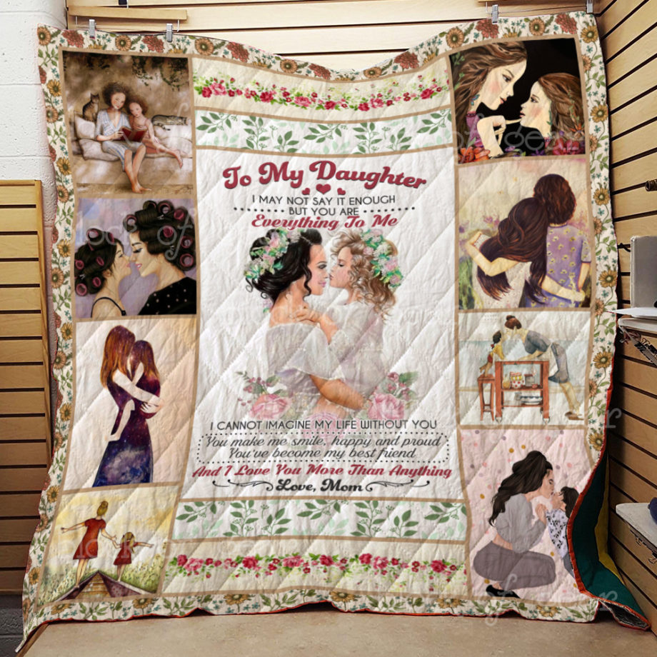 To My Daughter Quilt