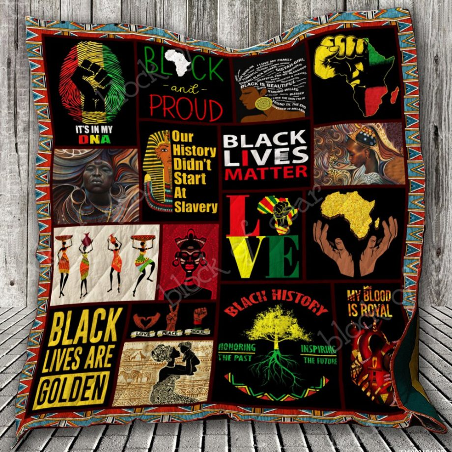 Black and Proud Quilt KPW705
