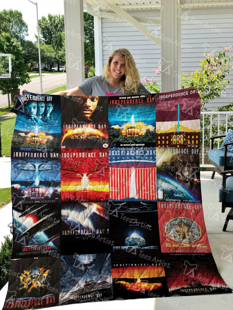 Independence Day Quilt Blanket 0678